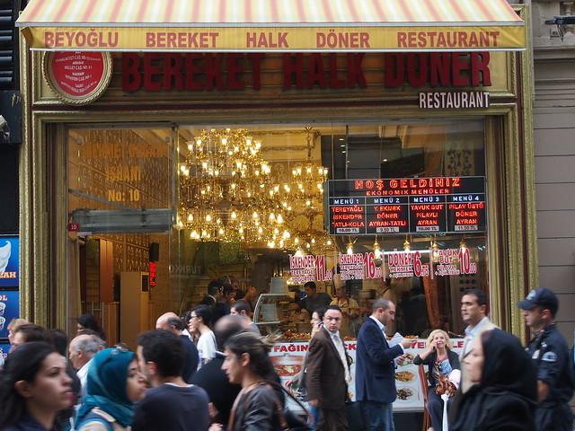 Beyoğlu - istiklal - Taksim - Bereket Halk Döner