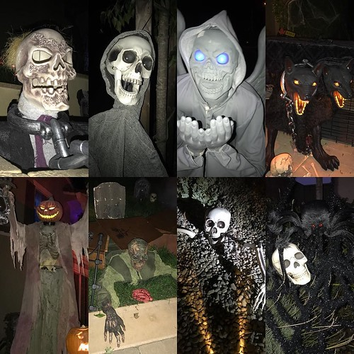 A ghoulish good time was had trekking around the neighborhood with the boys trick or treating.