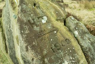 20170329-34_Standing Stone Engraving 1902 (Howdale Moor + Helwath Grains)