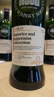 SMWS 84.23 - Liquorice and peppermint concoction