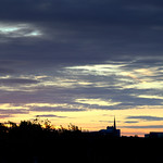 Dawn sky at Preston