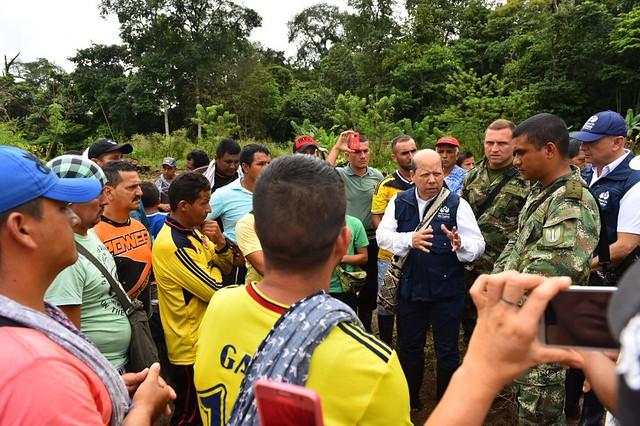 Misión humanitaria de la Defensoría del Pueblo en Tumaco