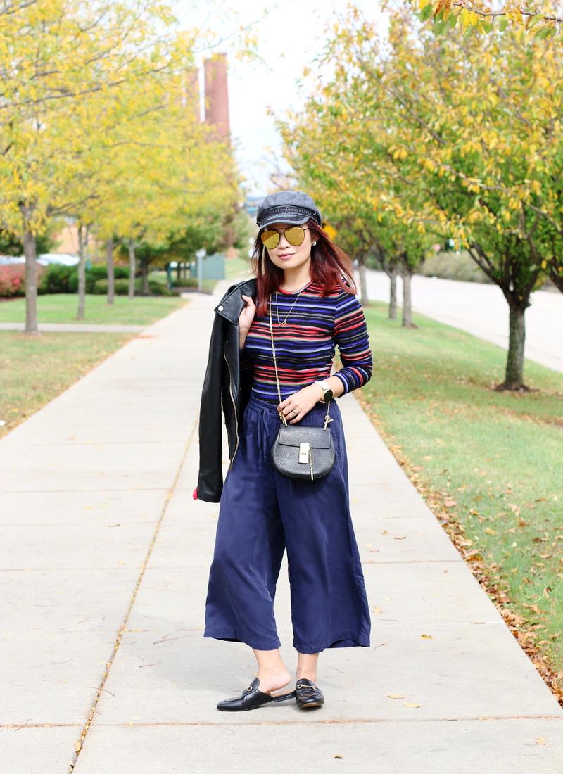 cuddl-duds-stripe-fleece-top-cropped-pants-hat-3