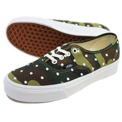 VANS Authentic_CamoPolkaDot 24.5 Q&U