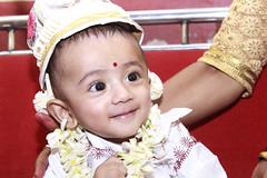 Annaprasana - First solid food feeding ceremony  - Harsha Jit das