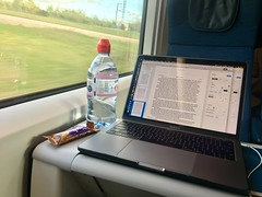 Writing on the Eurostar