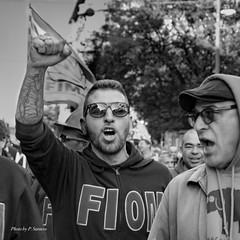 Rally against factory shutdown