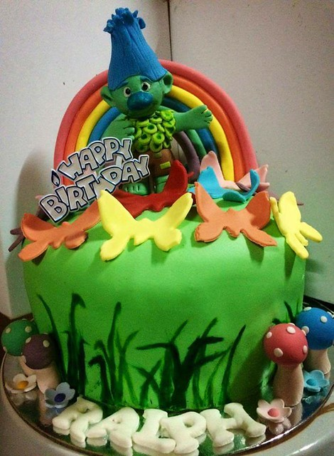 Cake by Millie Araga Duque of Millie's Sweet Haven