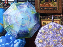 Umbrellas And Quilts