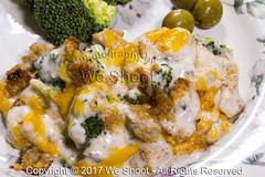 Broccoli Chicken Divan Serving