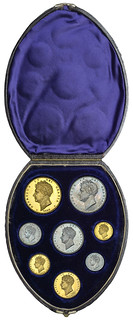 DNW - George IV proof set cased