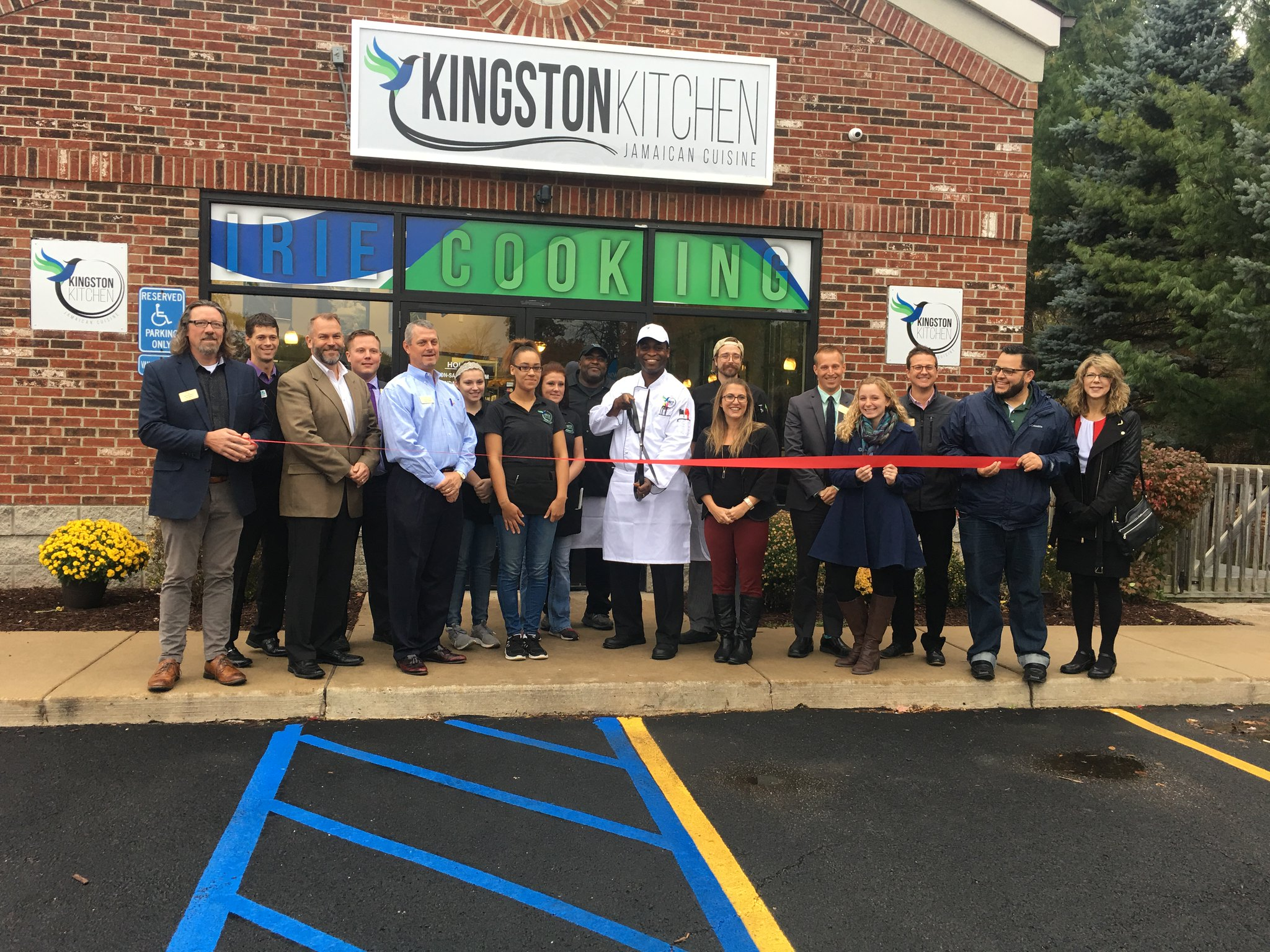 Kingston Kitchen Holds Ribbon Cutting Ceremony