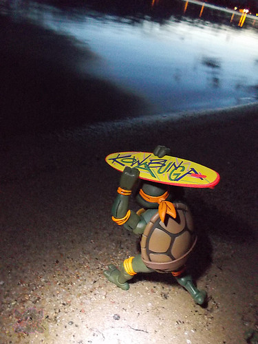 TEENAGE MUTANT NINJA TURTLES :: MIKE'S KOWABUNGA SURF BUGGY / ..beach buggin' iv (( 1991 ))