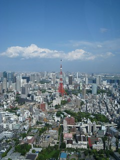 六本木ヒルズから(ワンピース展)04 東京タワー