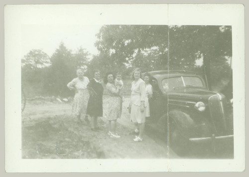 Group with car