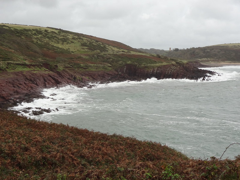 Pembroke Coast Path, towards Manorbier