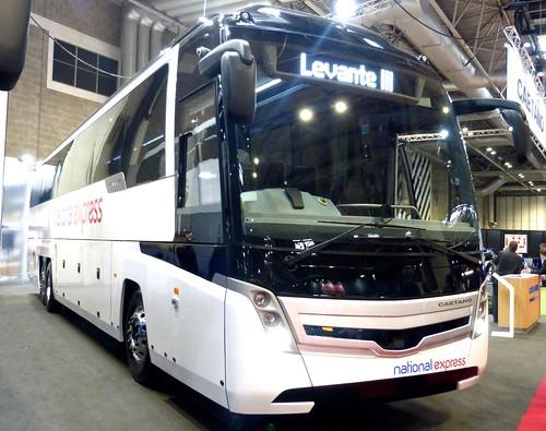 'Coach & Bus UK17' 'National Express' Volvo B11R / Caetano Levante III /2  on 'Dennis Basford's railsroadsrunways.blogspot.co.uk'