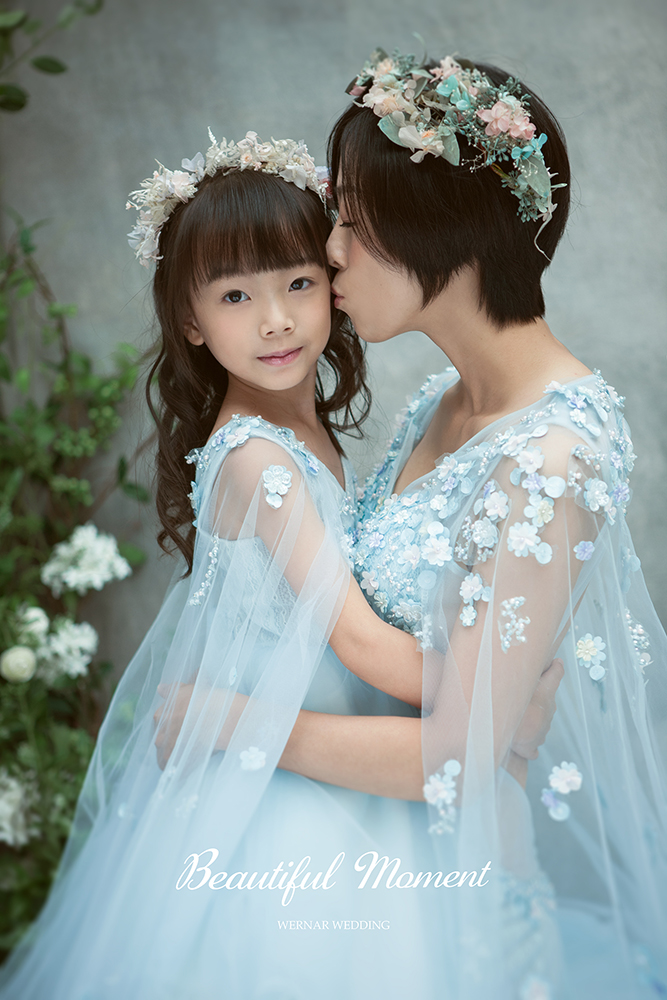 親子寫真,母女婚紗,母女照