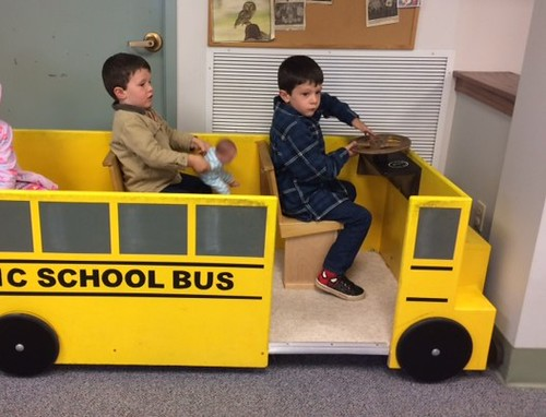 driving the school bus