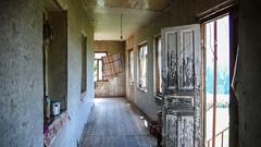 Wnętrze domu we wiosce Zeskho.