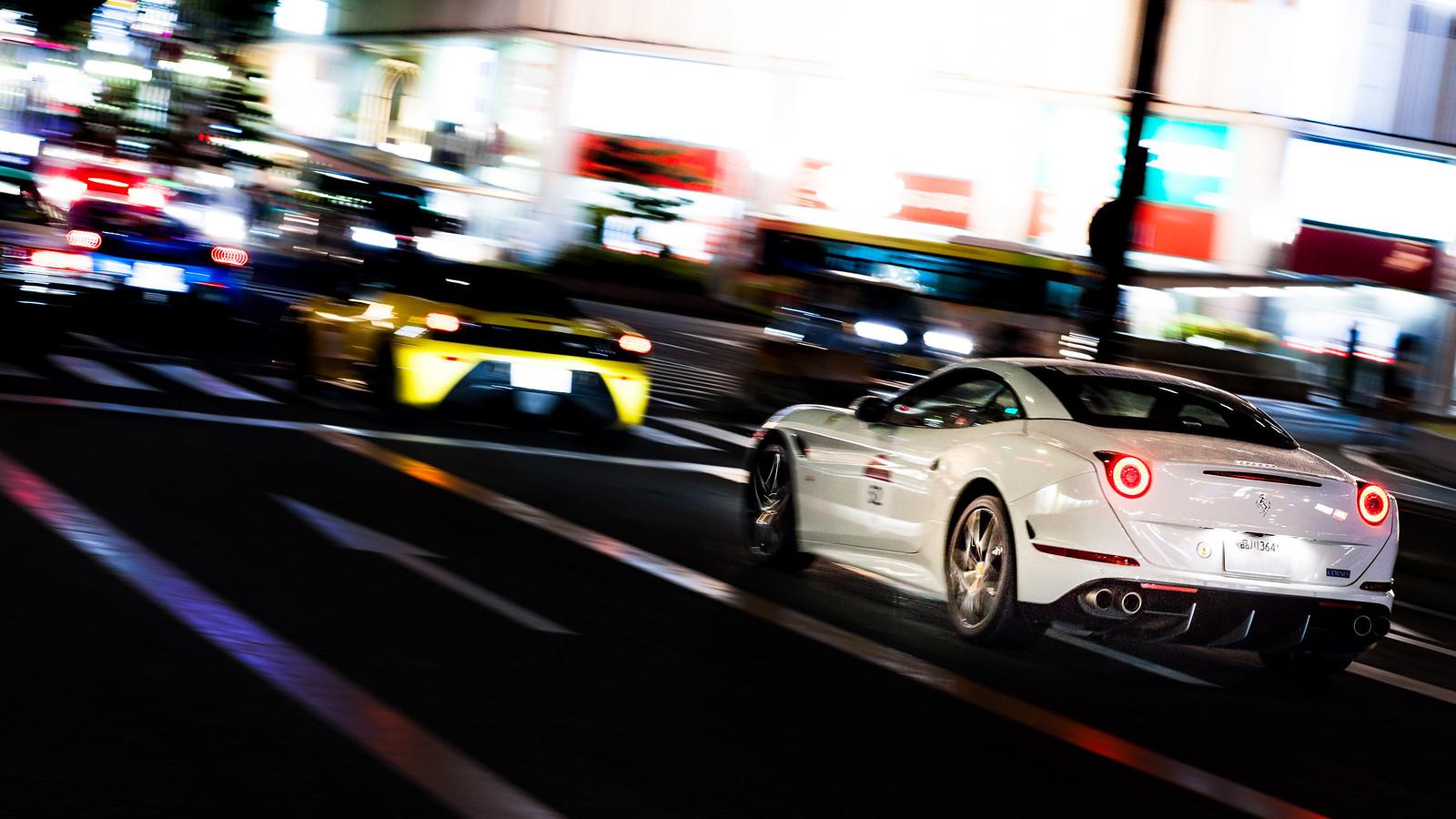 Ferrari 70th anniversary in Japan - california T