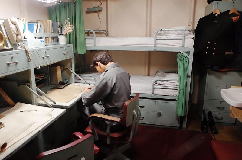 名古屋港南極観測船ふじ船内士官寝室