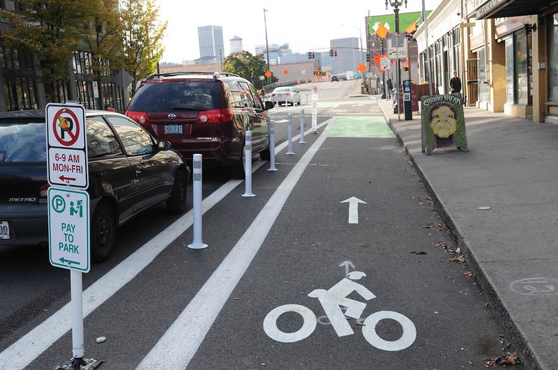 New bikeway on SE Morrison-52.jpg