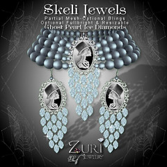 55L Sale Separates-Skeli Jewels Set - Ghost Pearl Ice Diamond