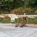 White Monoplane Canard Pusher