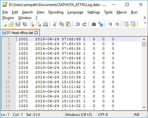 Import DAT File Data To Database Using C And VBNet In ASPNet