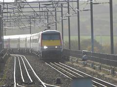 91120 arrives at Berwick-upon-Tweed (18/10/17)