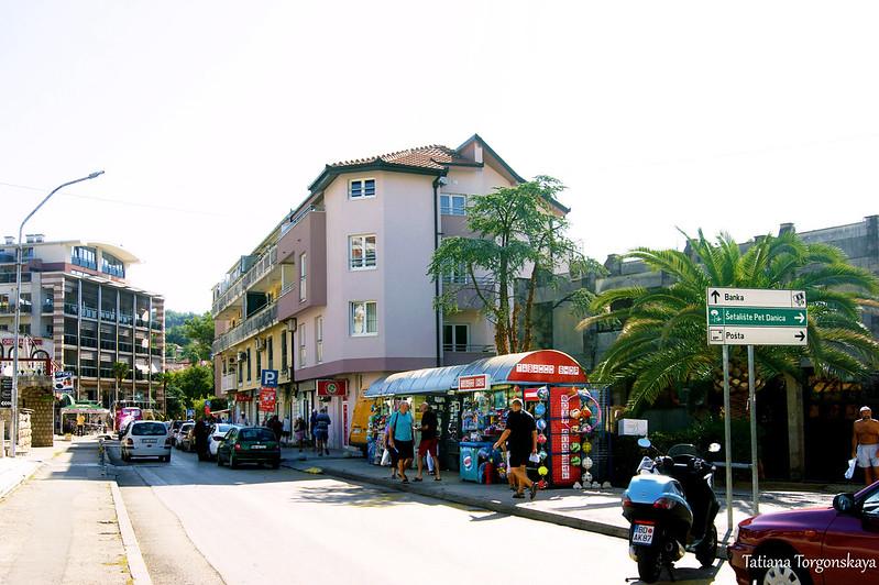 Остановка рядом с почтой Игало