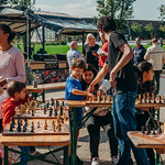 Simultaanschaken met de Nederlandse jeugdkampioen