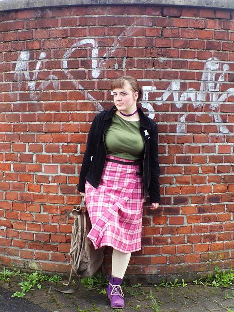 OOTD: Pink Kilt | Hedgefairy https://hedgefairy.wordpress.com