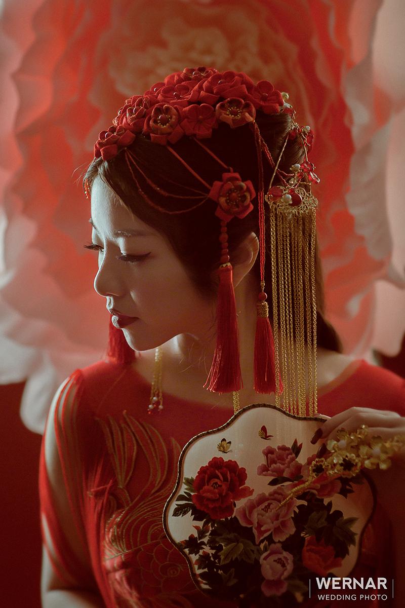 婚紗攝影,婚紗照,台中華納婚紗推薦,中式新娘