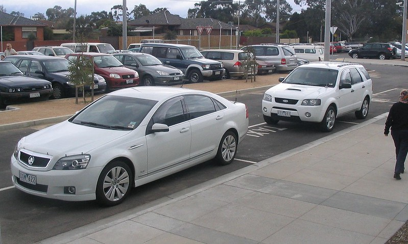 Premier's cars, Craigieburn station opening, September 2007