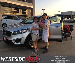 #HappyBirthday to Eunae from Rick Hall at Westside Kia!