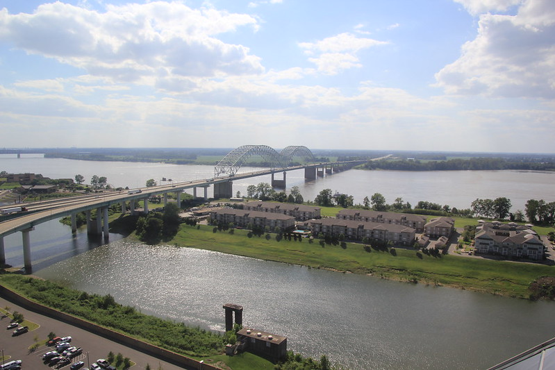 Mississippi River, Memphis, Tennessee, USA.