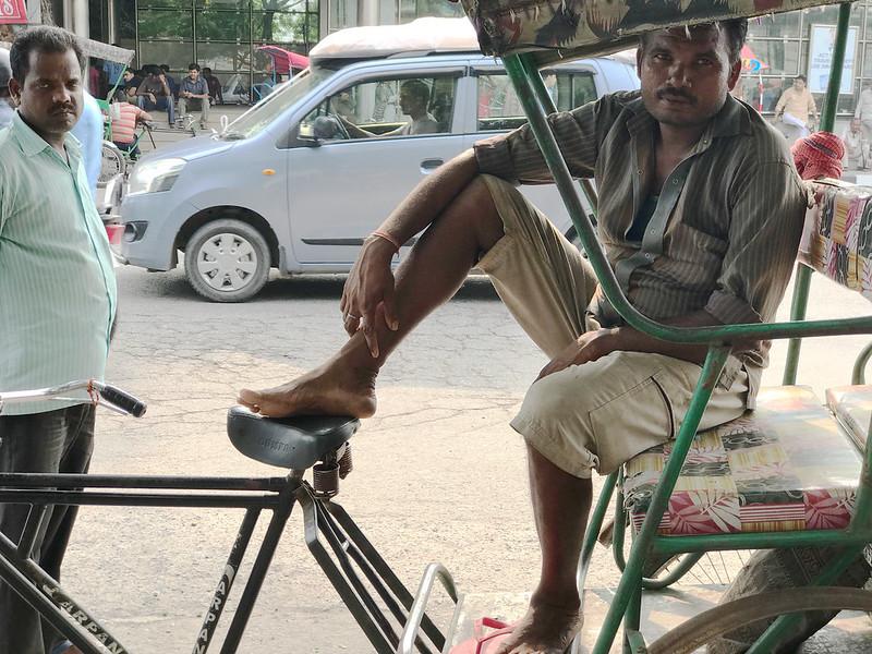 Mission Delhi - Deepak Kumar, Outside Vidha Sabha Metro Station