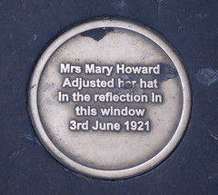 Photo of Mary Howard bronze plaque