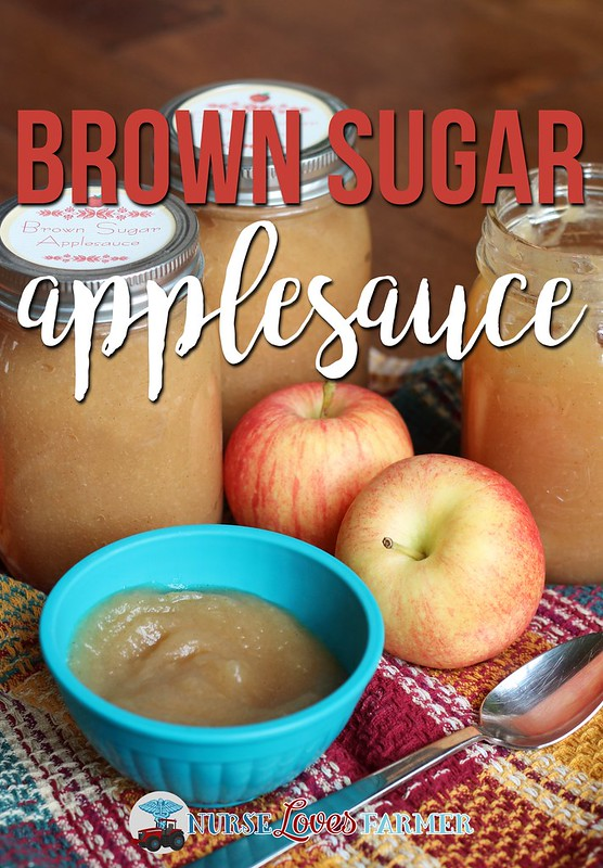 Brown Sugar Applesauce. If you like the taste of apple pie right from a jar, then this easy brown sugar applesauce is exactly what you're looking for! Makes 8 pint (500 ml) jars of applesauce to enjoy year-round.