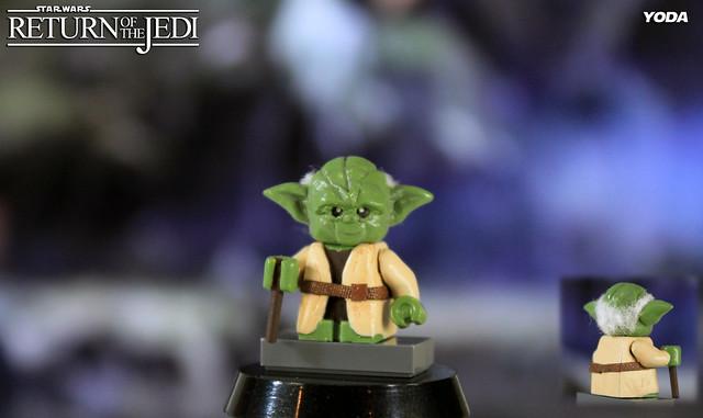 Custom LEGO Star Wars: Return of the Jedi | Yoda