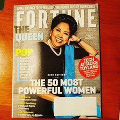 Great to see Indira Nooyi on the cover