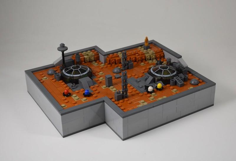 MOC microscala - Colonization