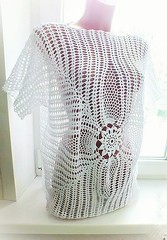 💋💋😃 I'm delighted with this beautiful blouse that's the most elegant and delicate crochet pattern look at this step by step