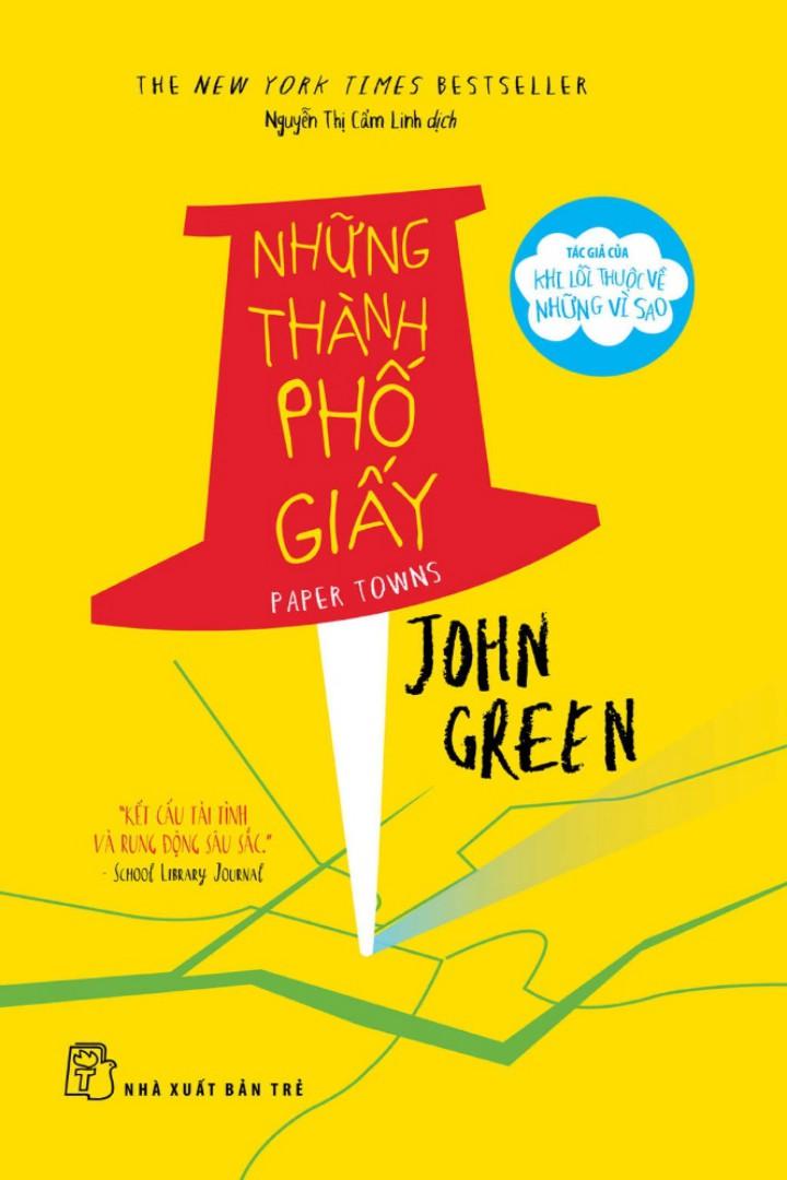 [Ebook] [Best Seller] EBook Những Thành Phố Giấy - John Green Full