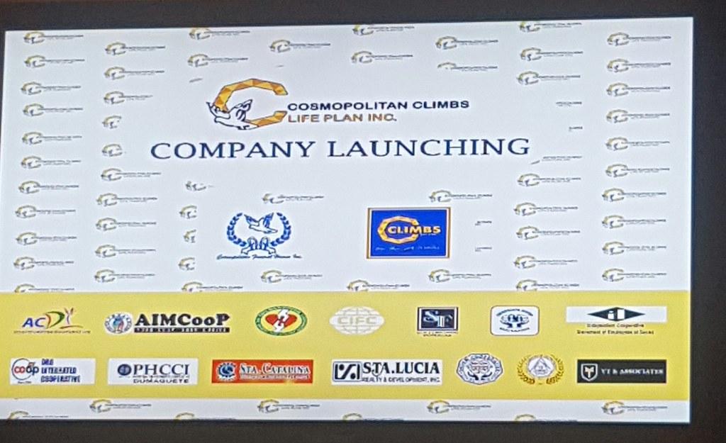 Cosmopolitan Climbs Life Plan, Inc. (CCLPI) Company Launching