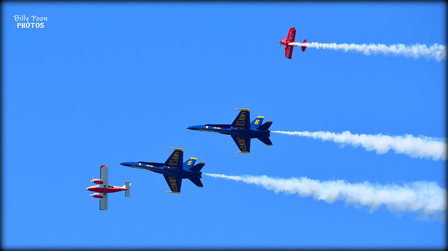The Blue Angels & Team Oracle Fleet Week 2017