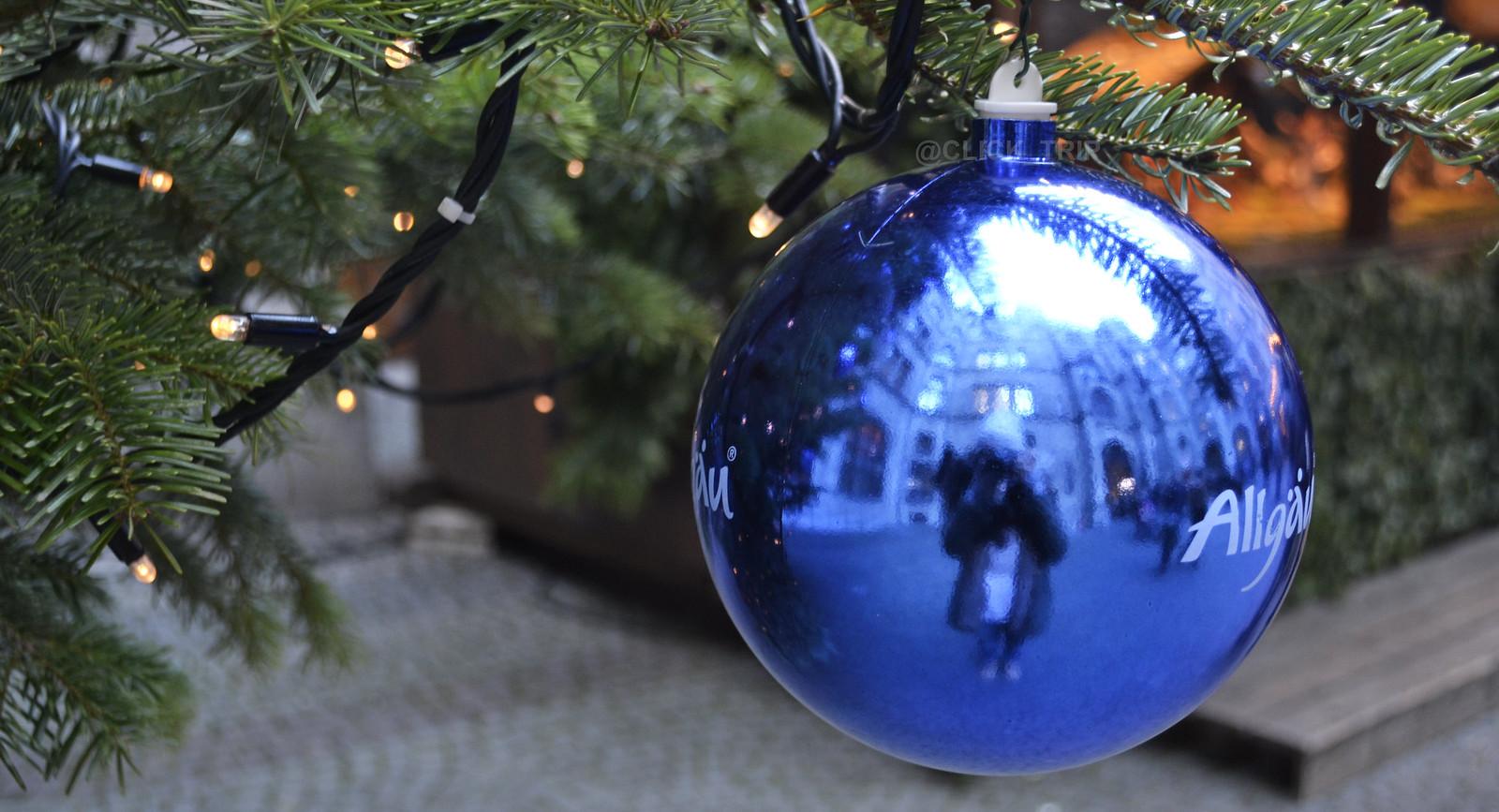 · Detalle en uno de los mercadillos de Navidad de Múnich ·