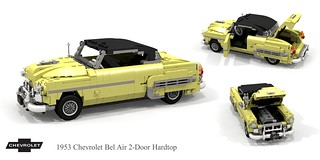 Chevrolet 1953 Bel Air Hardtop